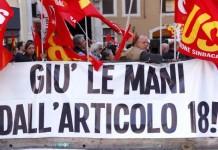 articolo 18 Statuto dei lavoratori