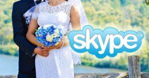 matrimonio via skype