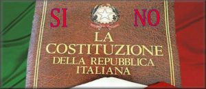 referendum costituzionale si o no