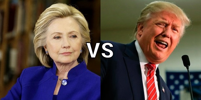 hillary clinton vs donald trump le due americhe a confronto. Black Bedroom Furniture Sets. Home Design Ideas