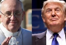 trump e papa francesco