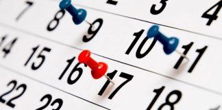 calendario scadenze