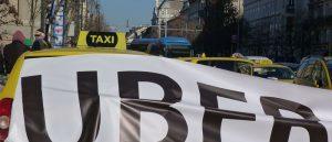 Uber Italia Sciopero taxi