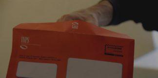 busta arancione inps