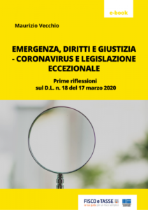 Coronavirus e Legislazione eccezionale