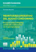 Prontuario operativo del nuovo condominio