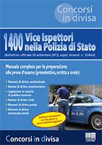 1400 Vice Ispettori della Polizia di Stato (Bollettino ufficiale 26 settembre 2013, suppl. straord. n. 1/24bis)