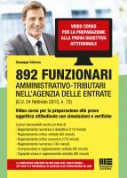 892 Funzionari Amministrativo-tributari nell'Agenzia delle Entrate