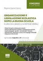 Organizzazione e legislazione scolastica dopo la Buona Scuola