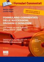 Formulario commentato delle successioni, divisioni e donazioni