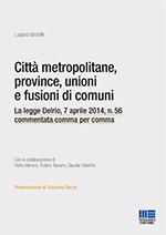 Città metropolitane, province, unioni e fusioni di comuni