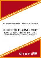 DECRETO FISCALE 2017